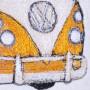 Tattykeel Design Studio Hand Crafted Volkswagen Van Textile