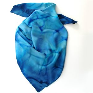 Large Square Twill Silk Scarf