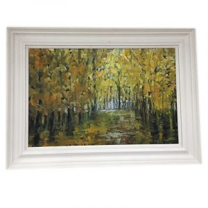 Autumnal Painting in Oils