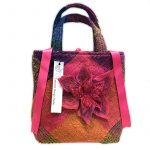 Irish Woven Fabric Designer Handbag