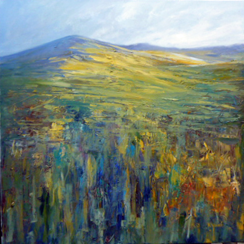 Oil Painting of the Sperrins